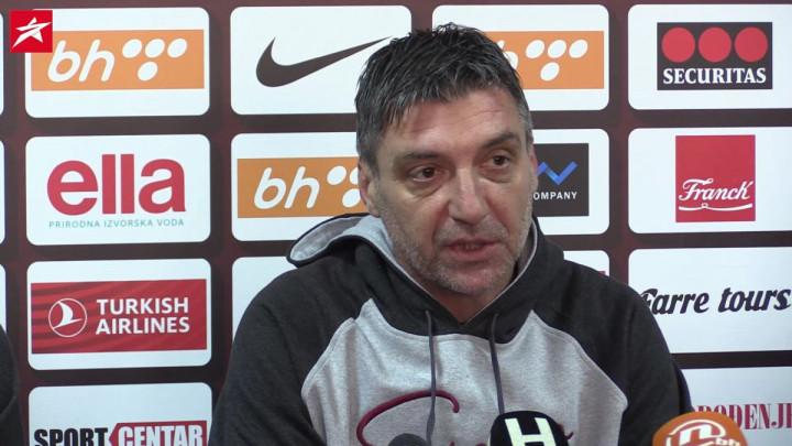 Marinović: Tino još ima problema sa fizičkom spremom