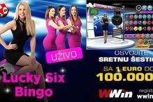 A sad spektakl: Lucky Six Bingo uživo!