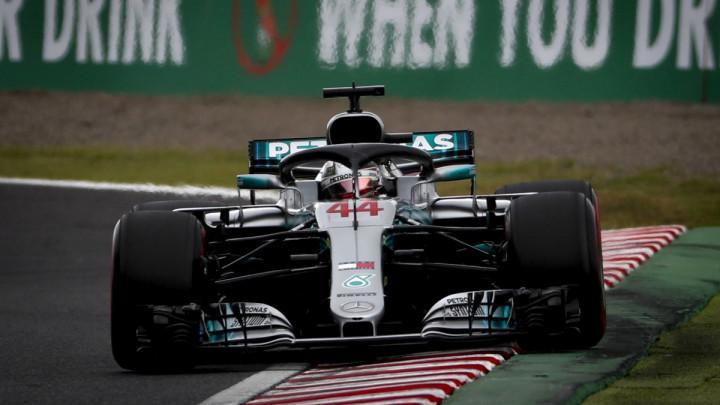 Hamiltonu pole pozicija u Japanu, Ferrari totalno podbacio