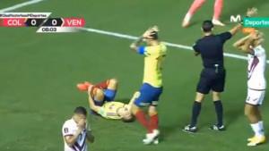Šok i nevjerica na licima svih igrača: Stravičan lom noge reprezentativca Kolumbije