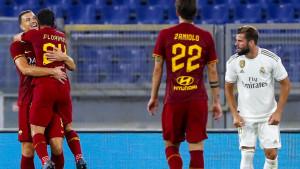Edin Džeko zabio fantastičan gol, Roma nakon penala savladala Real