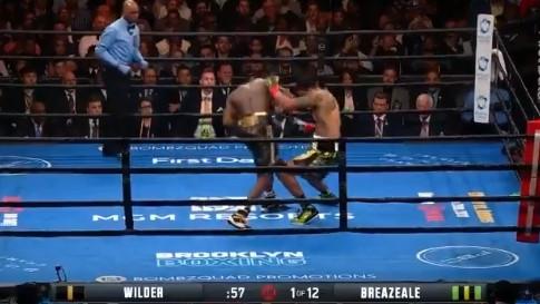 Deontay Wilder brutalno nokautirao Breazealea u prvoj rundi