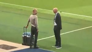 Guardiola otkrio o čemu je pričao sa Zidaneom, navijači Barce se lako mogu naljutiti