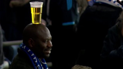 Bilo je lijepih poteza, golova, ali ovaj navijač je pobjednik večeri Lige prvaka