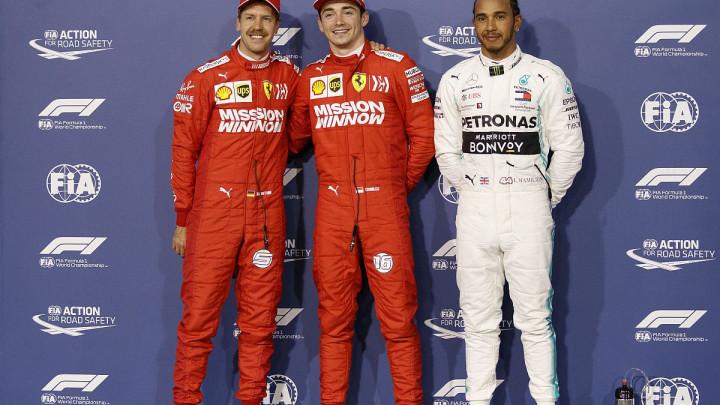Leclercu pole pozicija u Bahreinu