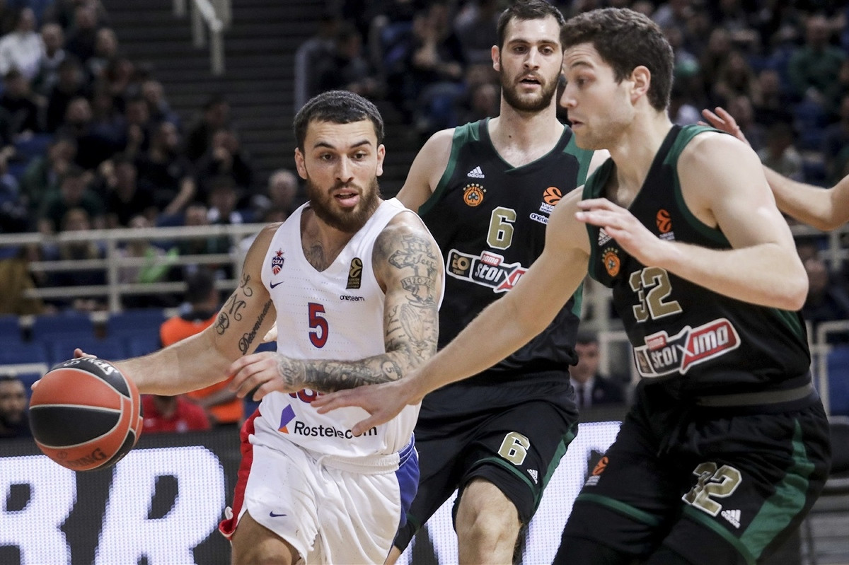 Mike James produžuje ugovor s CSKA