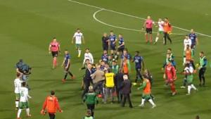Opšti haos na utakmici Atalanta - Sassuolo