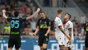 Brutalni Inter i maestralni Džeko ponizili Bolognu
