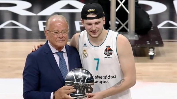 Luka Dončić MVP finala