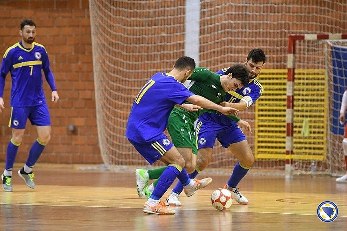 Futsal reprezentacija BiH izgubila od Turkmenistana