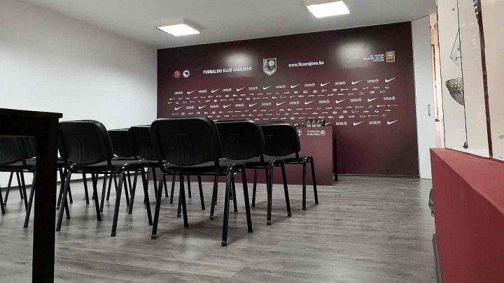 Obnovljen press salon FK Sarajevo