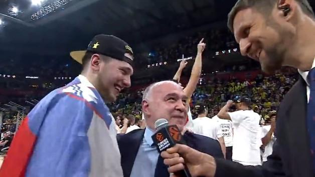 Zagrljaj Dončića i Lasa: Veliko, veliko, veliko...