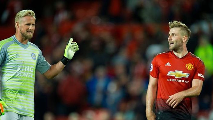 Schmeichel provocirao Shawa nakon utakmice