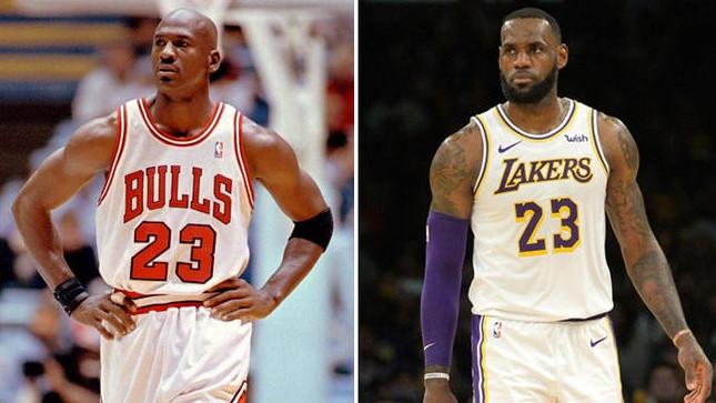 LeBron uskoro ruši Jordana: Gledao sam u njega kao u Boga