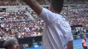 Kyrgios u čudu: Ovom navijaču je ovo bio posljednji meč na Australian Openu
