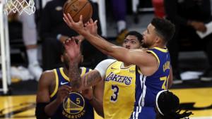 Curry i Warriorsi šokirali Lakerse, Harden i Durent se provukli protiv Bucksa