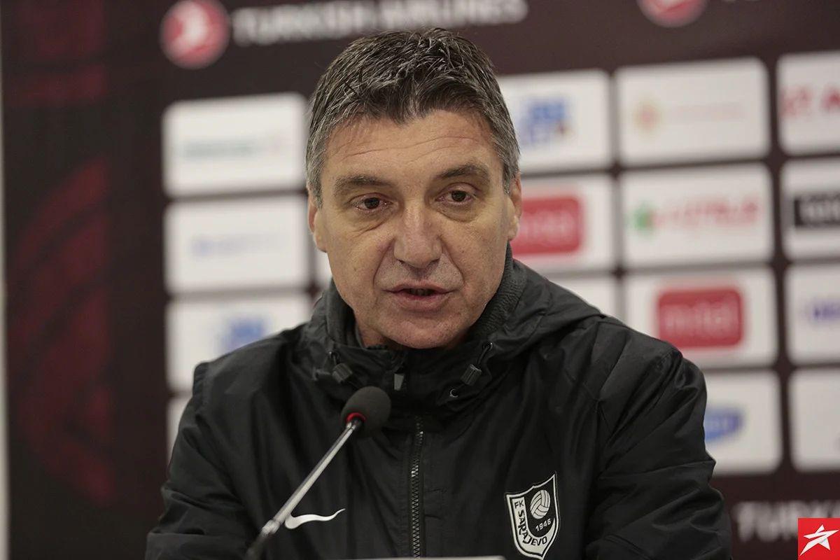 Marinović u svom stilu: Idemo po povoljan rezultat