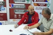 Skopljak i zvanično na kormilu RK Vogošća