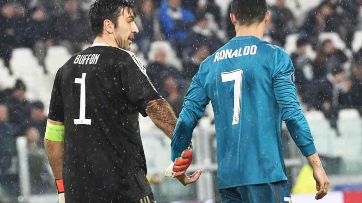 Buffon otkrio šta je rekao Ronaldu nakon epskih škarica