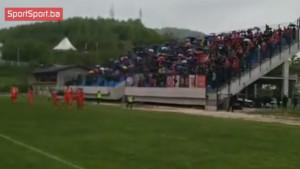 Velež poveo, ludnica među navijačima iz Mostara