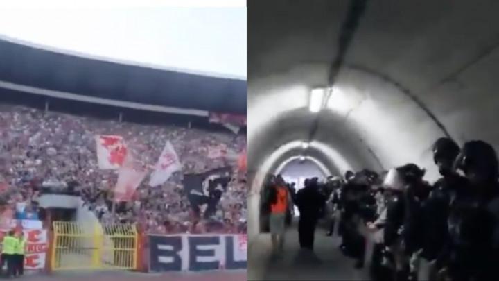 Italijanski mediji bruje o tunelu iz horor filmova na stadionu Crvene zvezde
