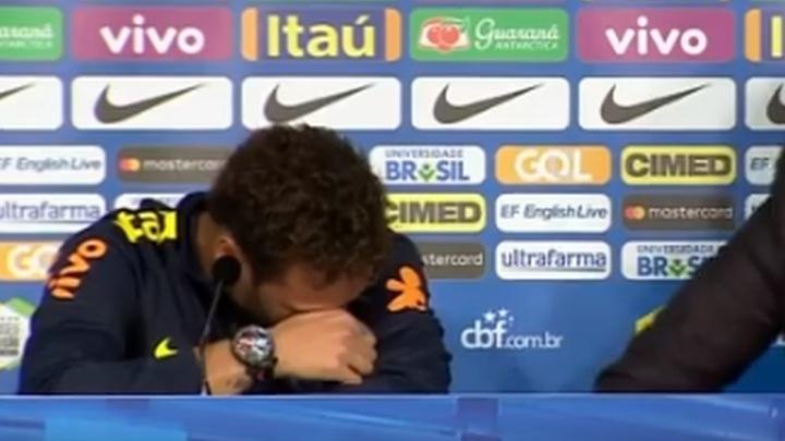Neymar zaplakao, pa napustio press konferenciju