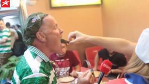 Navijač Sarajeva 'nahranio' navijača Celtica: Ne možeš u Škotsku, a da ne probaš ćevape...