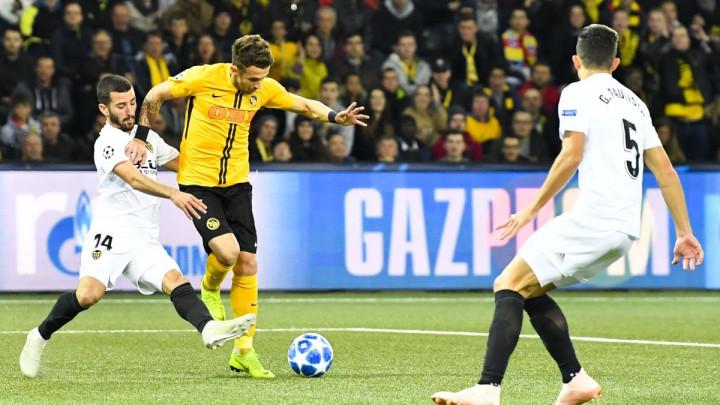 Young Boys i Valencia podijelili bodove u Bernu