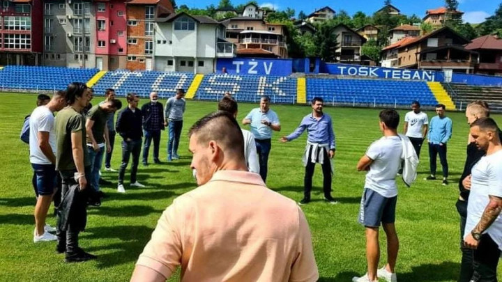 "Danas je ""živnulo"" i u NK TOŠK, ekipa u subotu pali motore"