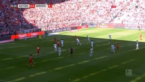 Bayern se muči protiv Werdera, a navijači Bavaraca ne mogu da vjeruju šta je promašio Gnabry