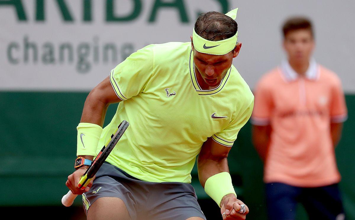 Nebo je plavo, trava je zelena, Rafael Nadal je šampion Roland Garrosa