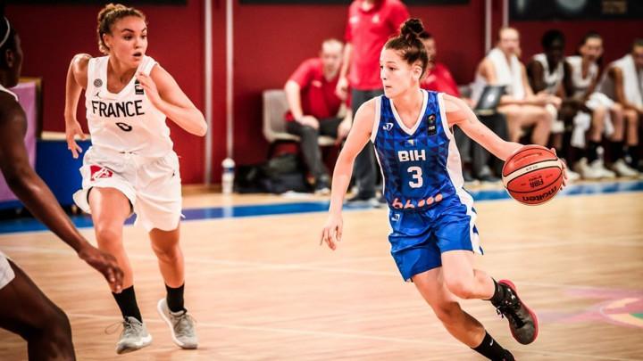 Bh. juniorke doživjele novi debakl na Eurobasketu