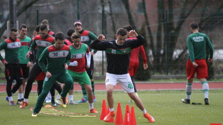 Olimpik u utorak protiv Bosne, na treninzima i Dejan Uzelac