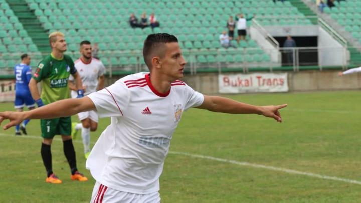 Kenan Šarić na probi u FK Velež, šansu dobio danas protiv Iskre iz Stoca