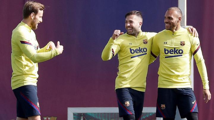 Jordi Alba spreman za El Clasico