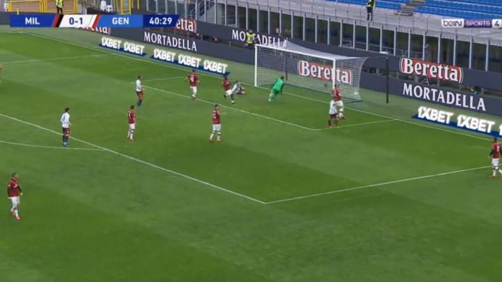 Begović primio i drugi gol protiv Genove, ali on je najmanje kriv