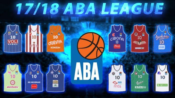Poznati svi učesnici ABA lige, Igokea predstavlja BiH