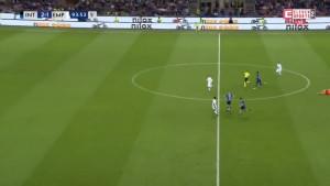 Brozović je postigao maestralan gol sa centra, ali je glavni sudija pokvario veliko slavlje navijača