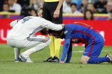 Messi ostao bez zuba na El Clasicu