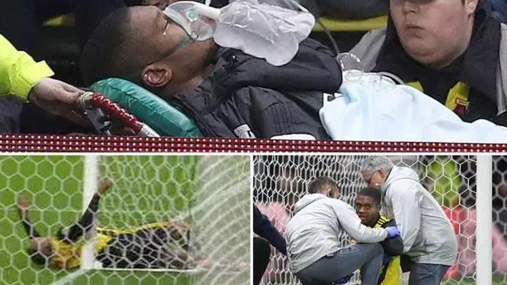 Nastao muk na stadionu: Igrač Watforda udario u glavom u stativu