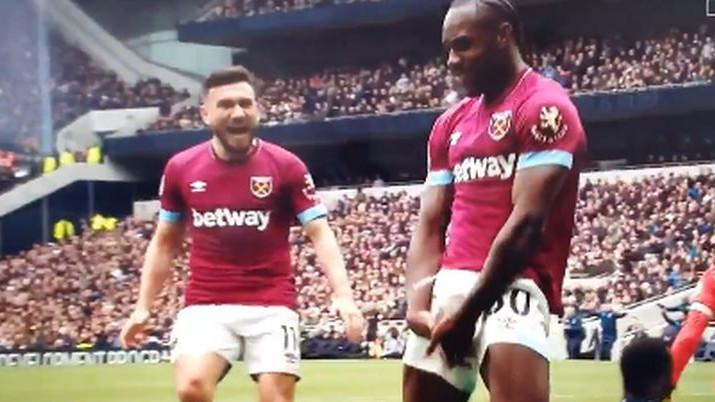 West Ham vodi protiv Tottenhama, a Antonio izazvao bijes zbog proslave gola