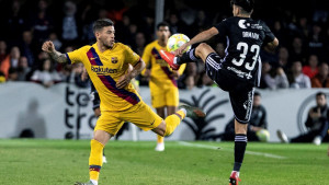 Carles Perez na press konferenciji Rome pokazao da mu je Barcelona zabila nož u leđa