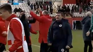 Ovako je to izgledalo: Zakarić prvo zaledio, pa Fajić odledio stadion 'Rođeni'