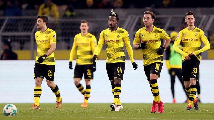 Borussia kiksala na nikad praznijem Westfalenu