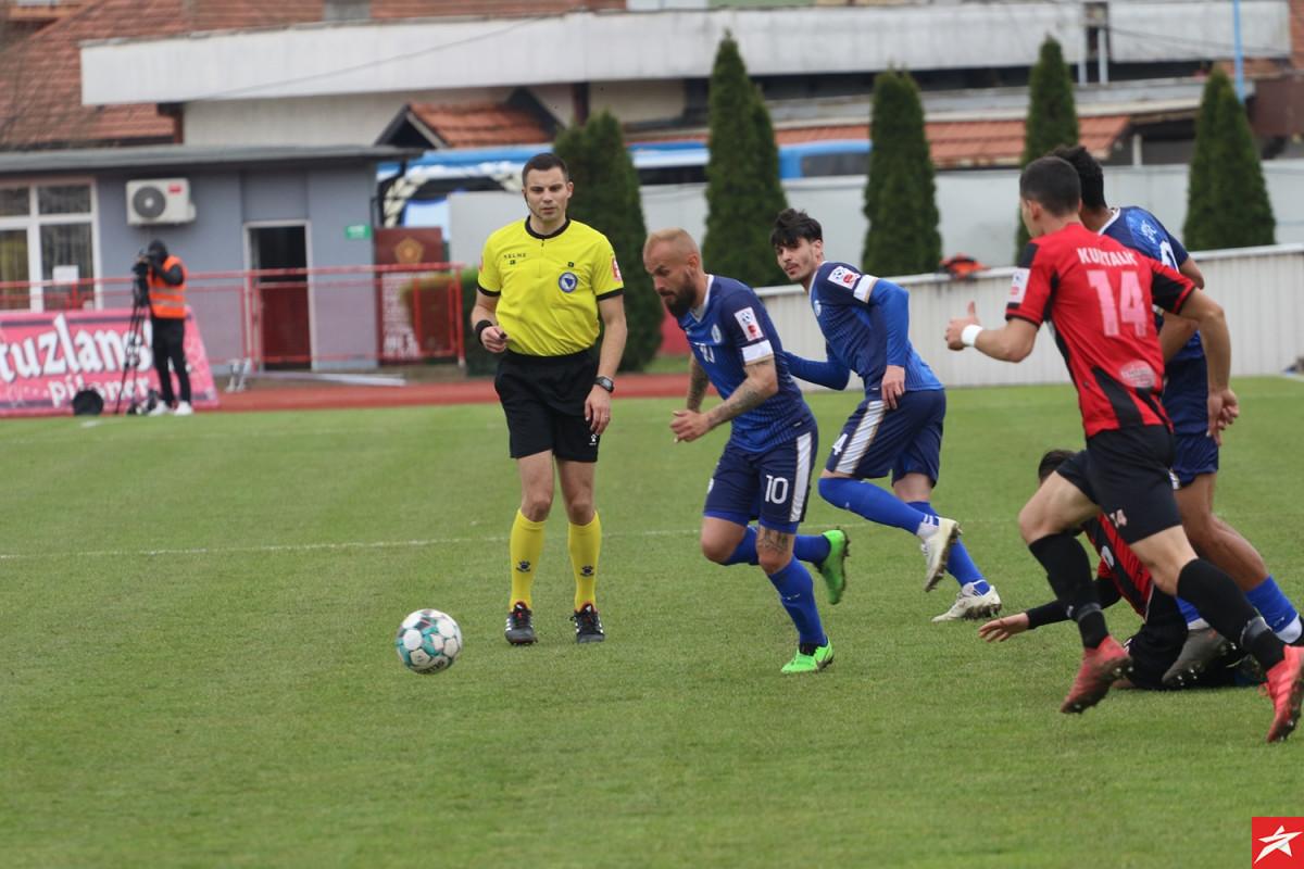 Goran Brkić sa penala riješio tuzlanski derbi