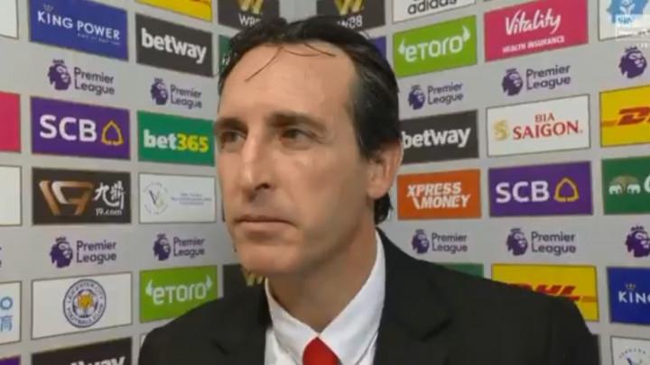 Emery nakon poraza: Napravili smo korak unaprijed u odbrani