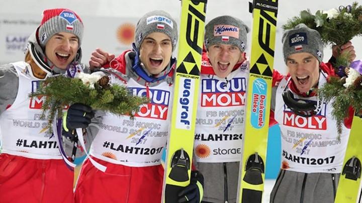 Poljaci osvojili ekipno zlato na SP u ski skokovima