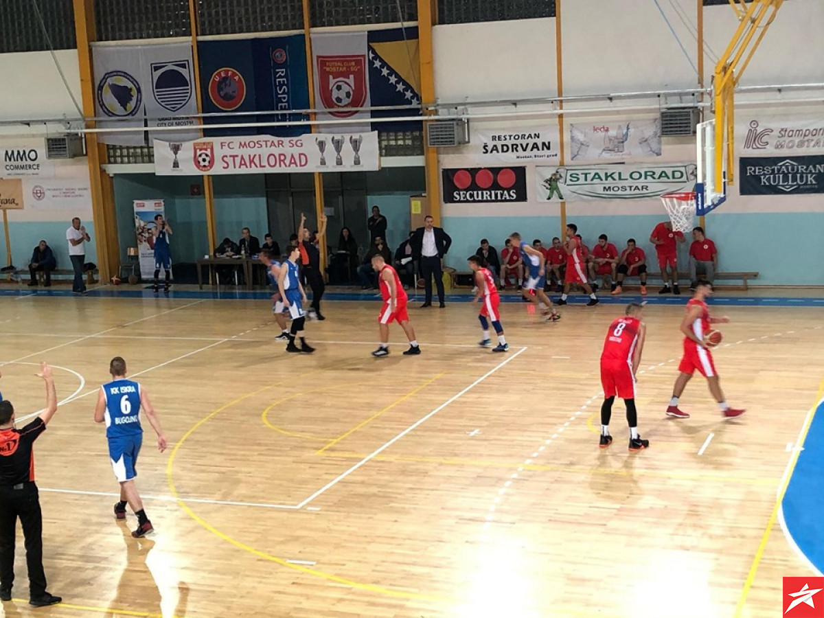 U prvoj istorijskoj utakmici KK Velež slavio protiv Iskre