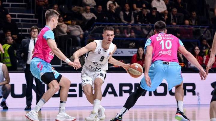 Edin Atić odličan i protiv KK Partizan, ali Mega nije mogla izbjeći poraz