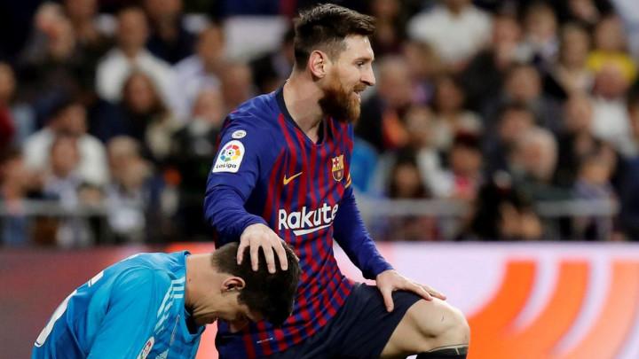 Barcelona video klipom odgovorila na Courtoisove komentare o Messiju